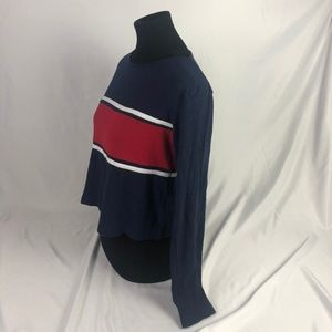 Red White and Blue Long Sleeve Tee